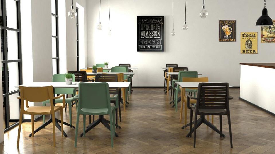 Krzesła kawiarniane nowoczesne
